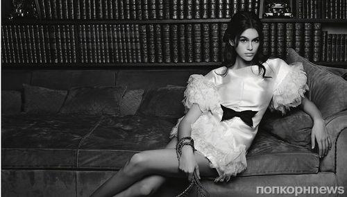 Кайя Гербер дебютировала в рекламной кампании аксессуаров Chanel