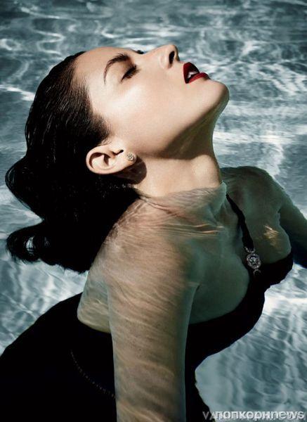 Оливия Манн в журнале Vanity Fair. Декабрь 2012