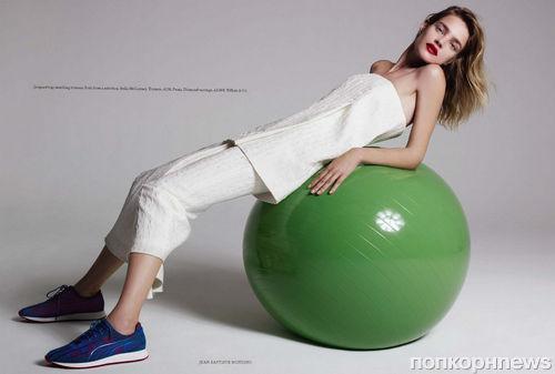 Наталья Водянова в журнале Harper's Bazaar Великобритания. Сентябрь 2013