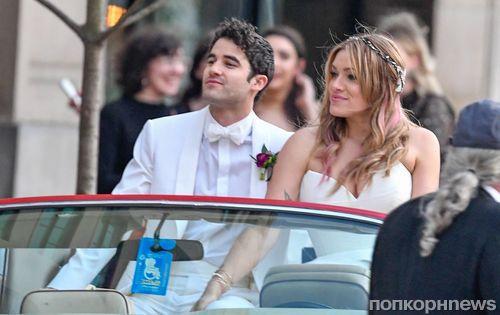 Звезда «Хора» и «Убийства Версаче» Даррен Крисс женился: первые фото со свадьбы