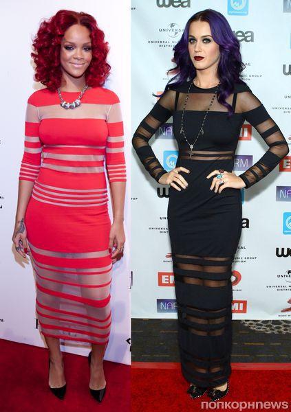 Fashion battle: Рианна и Кэти Перри