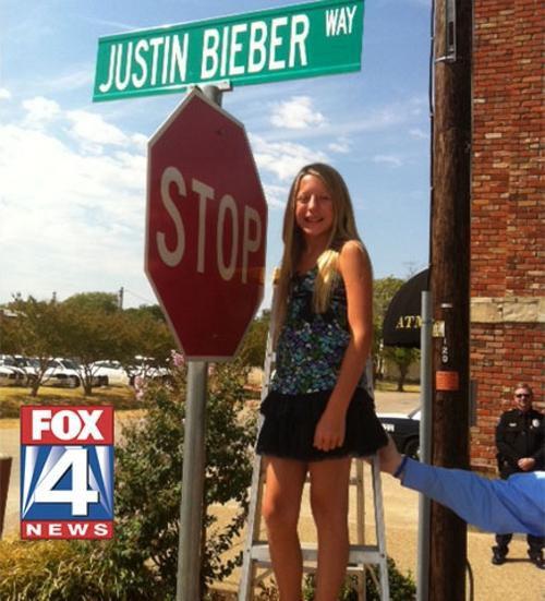 Джастин Бибер обзавелся собственной улицей