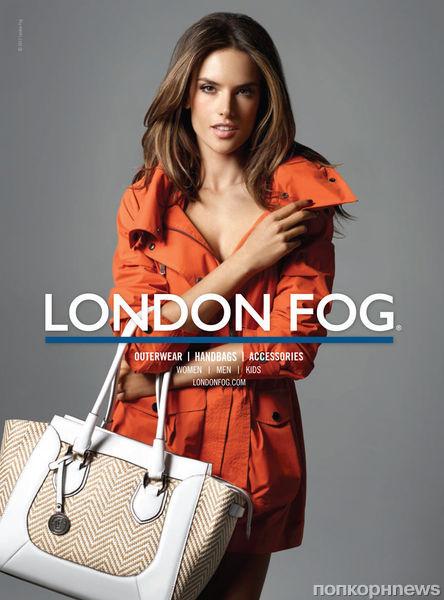 Алессандра Амбросио с дочкой в рекламной кампании London Fog. Весна 2013