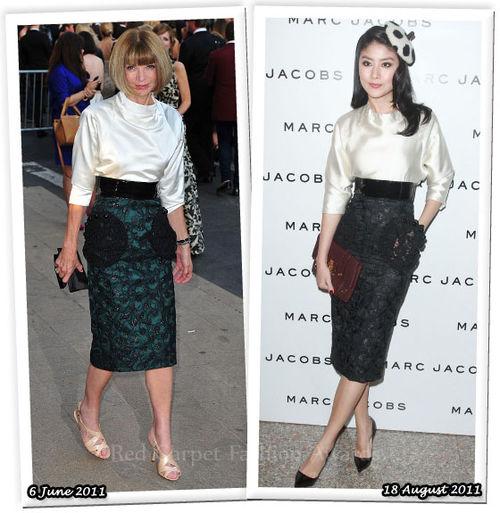 Fashion Battle: Анна Винтур и Келли Чен