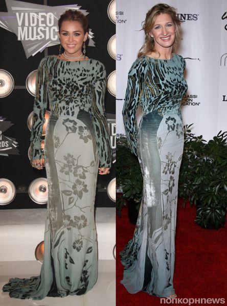 Fashion battle: Майли Сайрус и Штеффи Граф