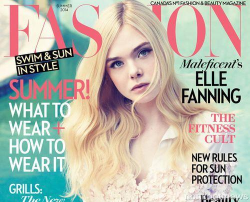 Эль Фаннинг в журнале Fashion. Лето 2014