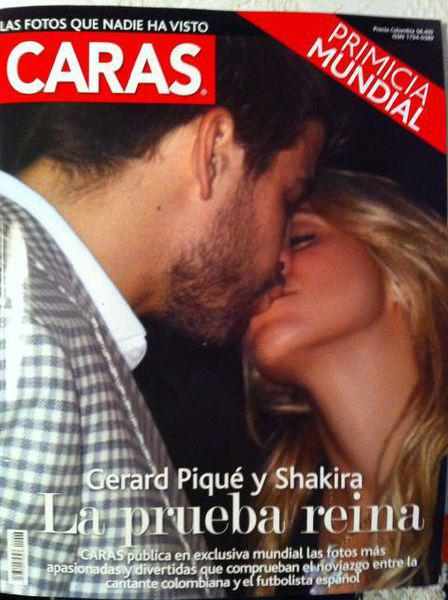 Кто-то заработал миллион… или фото поцелуя Жерара Пике и Шакиры