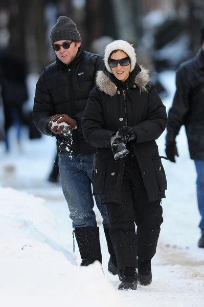 Сара Джессика Паркер любит зиму