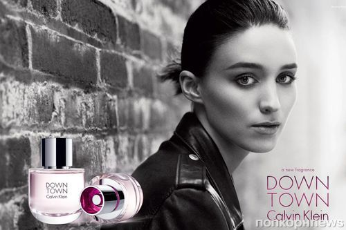 Руни Мара в рекламе нового аромата Calvin Klein «Downtown»