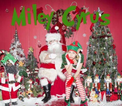 Майли Сайрус представила новую рождественскую песню My Sad Christmas Song