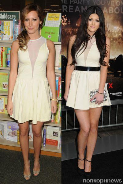 Fashion battle: Эшли Тисдейл и Кайли Дженнер