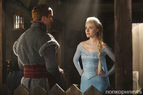 Первый взгляд на Эльзу в сериале «Однажды в сказке» и промо-ролики эпизодов разных шоу