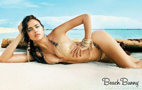 Ирина Шейк для рекламы купальников Beach Bunny