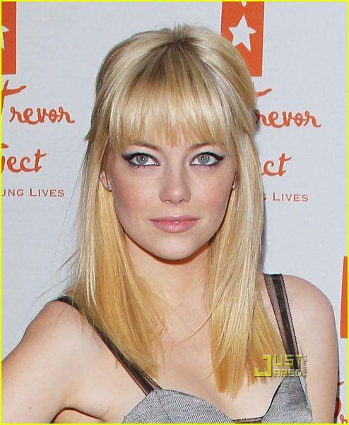 Эмма Стоун стала блондинкой
