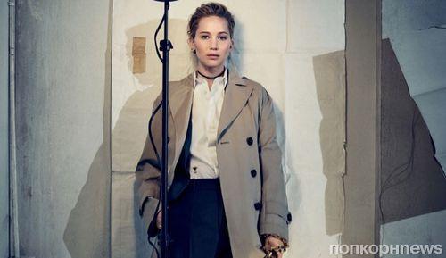 Дженнифер Лоуренс снялась в рекламной кампании Dior осень 2018