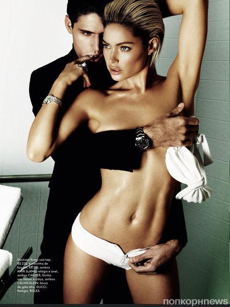 Даутцен Крез в журнале Vogue Бразилия. Июнь 2013