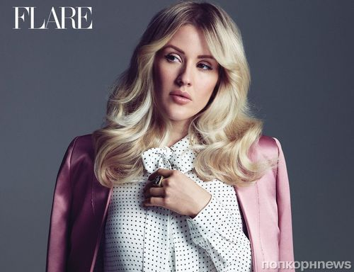 Элли Голдинг снялась для нового выпуска журнала  Flare