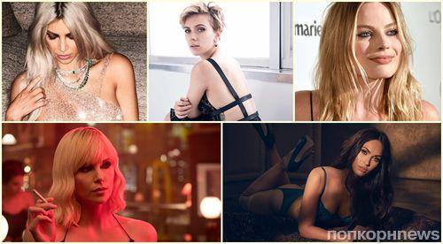 Итоги 2017 по версии ПОПКОРНNews: самая сексуальная женщина-знаменитость