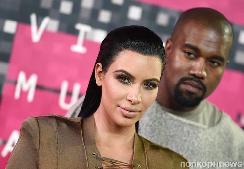 Ким Кардашьян выложила новые фотографии сосвадьбы