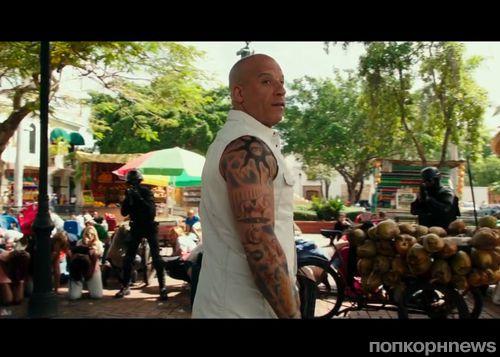 Вин Дизель в дублированном трейлере фильма «Три икса: Мировое господство»
