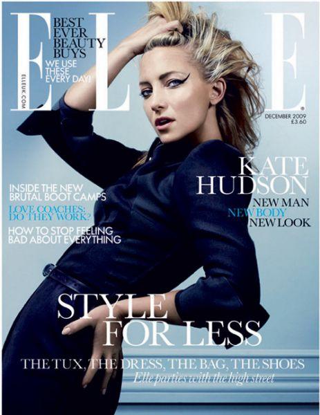 Кейт Хадсон в журнале Elle. UK. Декабрь 2009