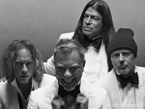 Музыканты культовой группы Metallica снялись в рекламе модного бренда Brioni