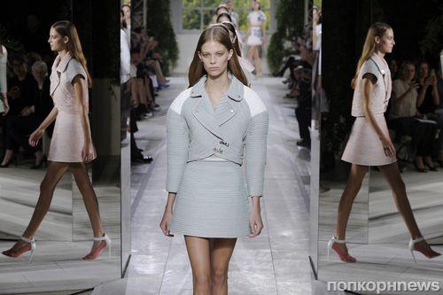 Модный показ новой коллекции Balenciaga. Весна / лето 2013