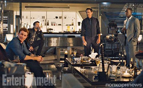 Первые кадры фильма «Мстители: Эра Альтрона»