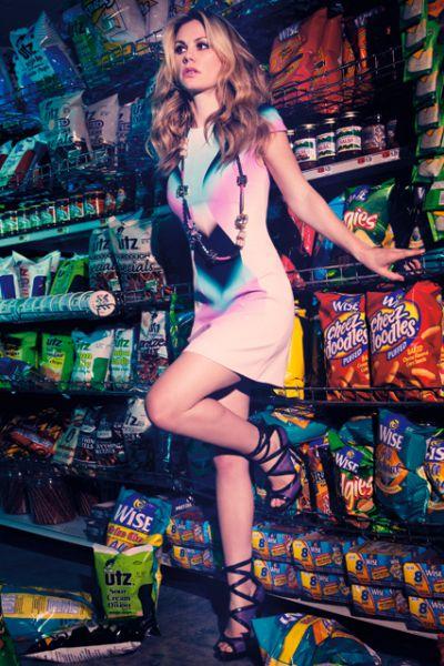 Анна Пакуин в журнале Marie Claire. Февраль 2010