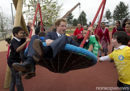 Принц Гарри испытал Олимпийский парк имени королевы Елизаветы II