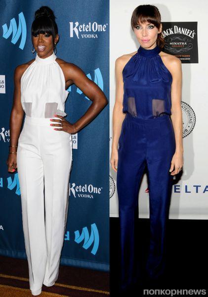 Fashion battle: Келли Роулэнд и Уитни Каммингс