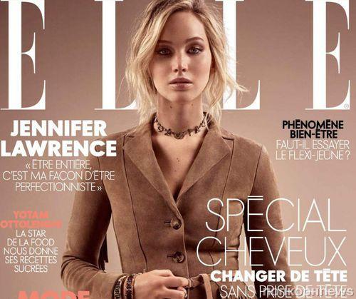 Дженнифер Лоуренс в фотосессии для французского Elle