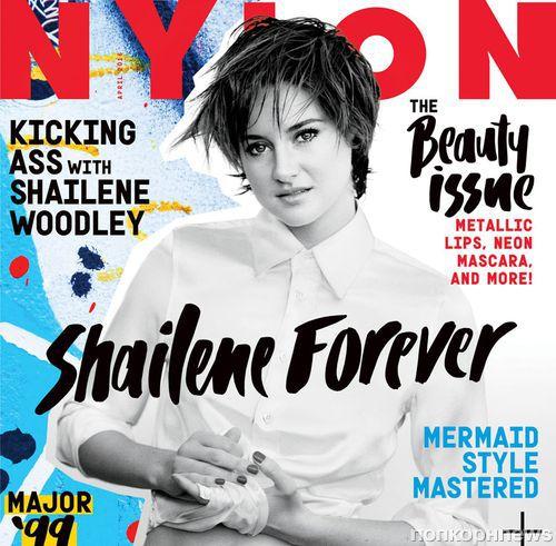 Шейлин Вудли в журнале Nylon. Апрель 2015