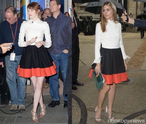 Fashion battle: Эмма Стоун и Оливия Палермо