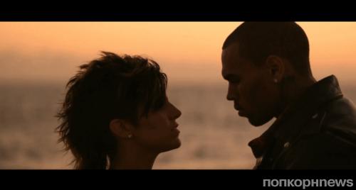 Крис Браун в клипе Сабрины Антуанетты - I Know You're Out There