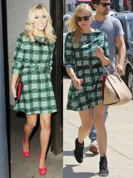 Fashion battle: Молли Кинг и Диана Крюгер