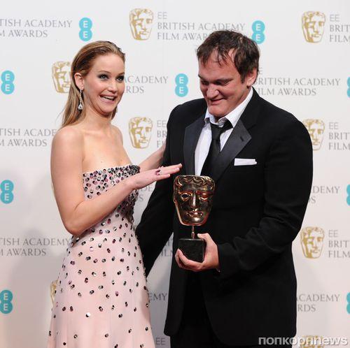 Звезды на церемонии BAFTA 2013