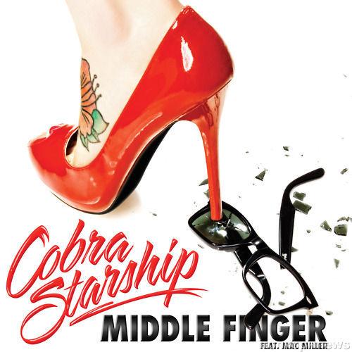 Новый клип группы Cobra Starship-Middle Finger Feat. Mac Miller