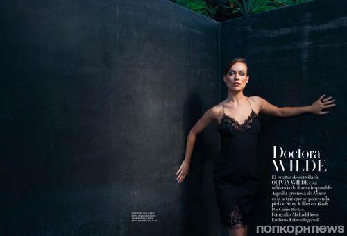 Оливия Уайлд в журнале Harper's Bazaar Испания. Сентябрь 2013