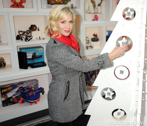 Дженни Гарт на открытии магазина EBay Toy Box