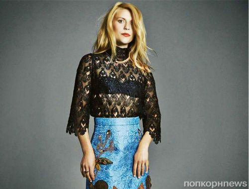 Клэр Дэйнс в журнале Glamour Великобритания. Декабрь 2014