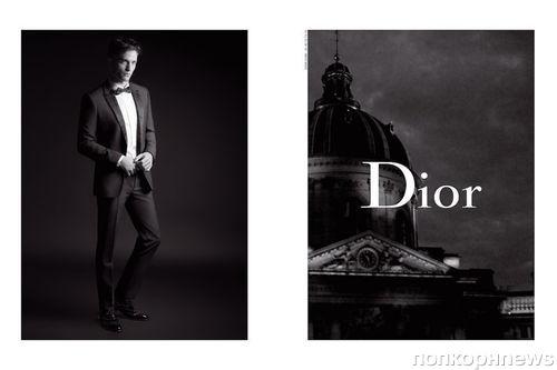 Роберт Паттинсон снялся в рекламной кампании Dior осень-2017