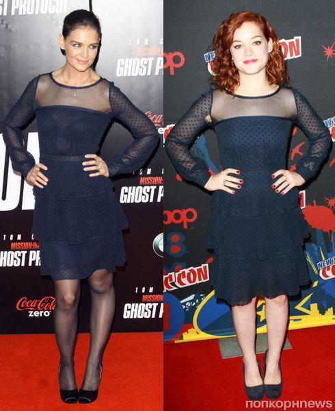 Fashion battle: Кэти Холмс и Джейн Леви
