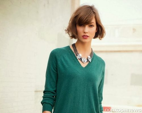 Карли Клосс в рекламной кампании Next. Зима 2013-2014