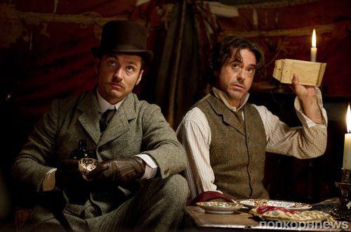 Джуд Лоу намекнул на сюжет третьего «Шерлока Холмса»