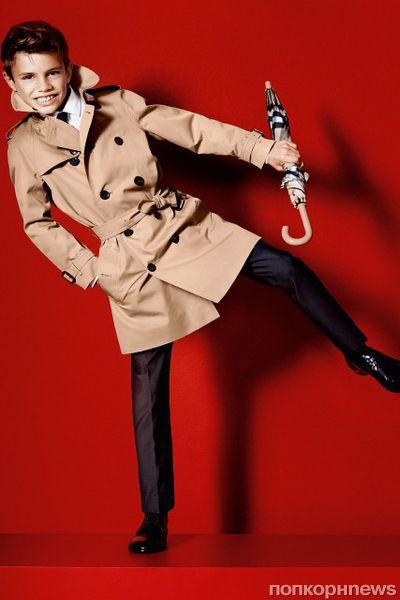 Ромео Бекхэм в рекламном ролике Burberry: полная версия