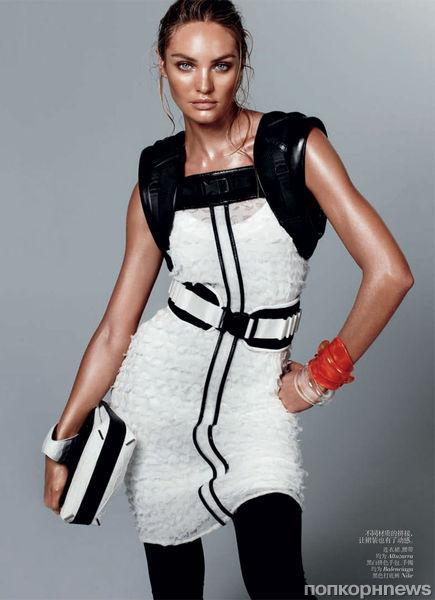 Кэндис Свэйнпоул в журнале Vogue Китай. Февраль 2012