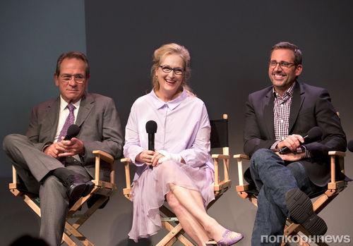"""Мэрил Стрип и Томми Ли Джонс представили фильма """"Весенние надежды"""""""