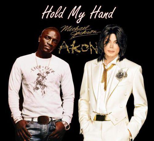 Клип  Майкла Джексона и Akon - Hold my hand
