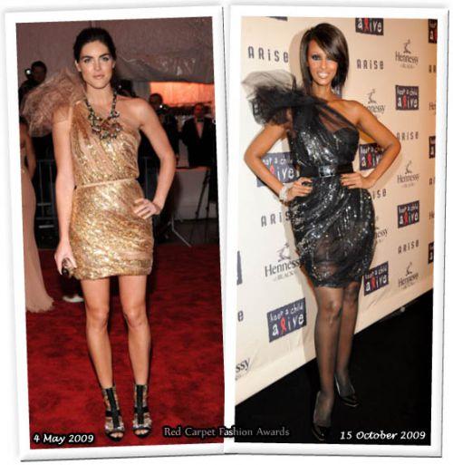 Fashion battle: Хилари Рода и Иман
